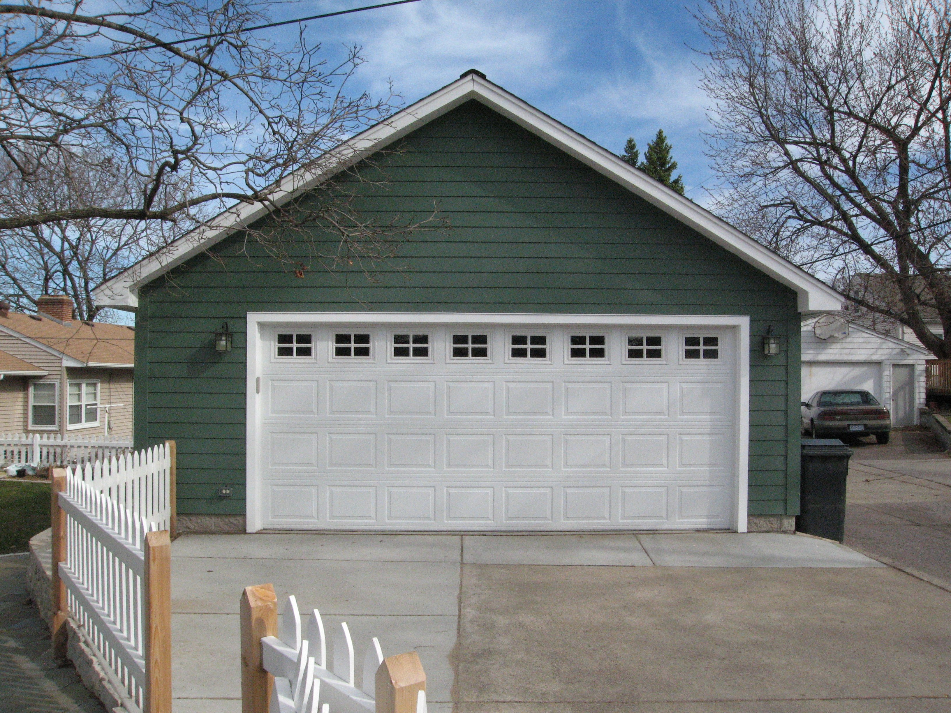 Free storage truss garage plans for Diy 3 car garage