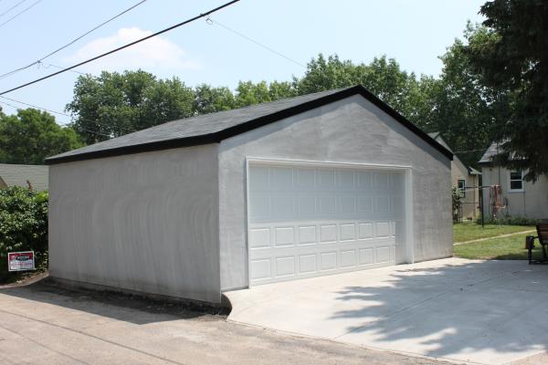 St Paul Stucco Garages Stucco Garage Builders Mn