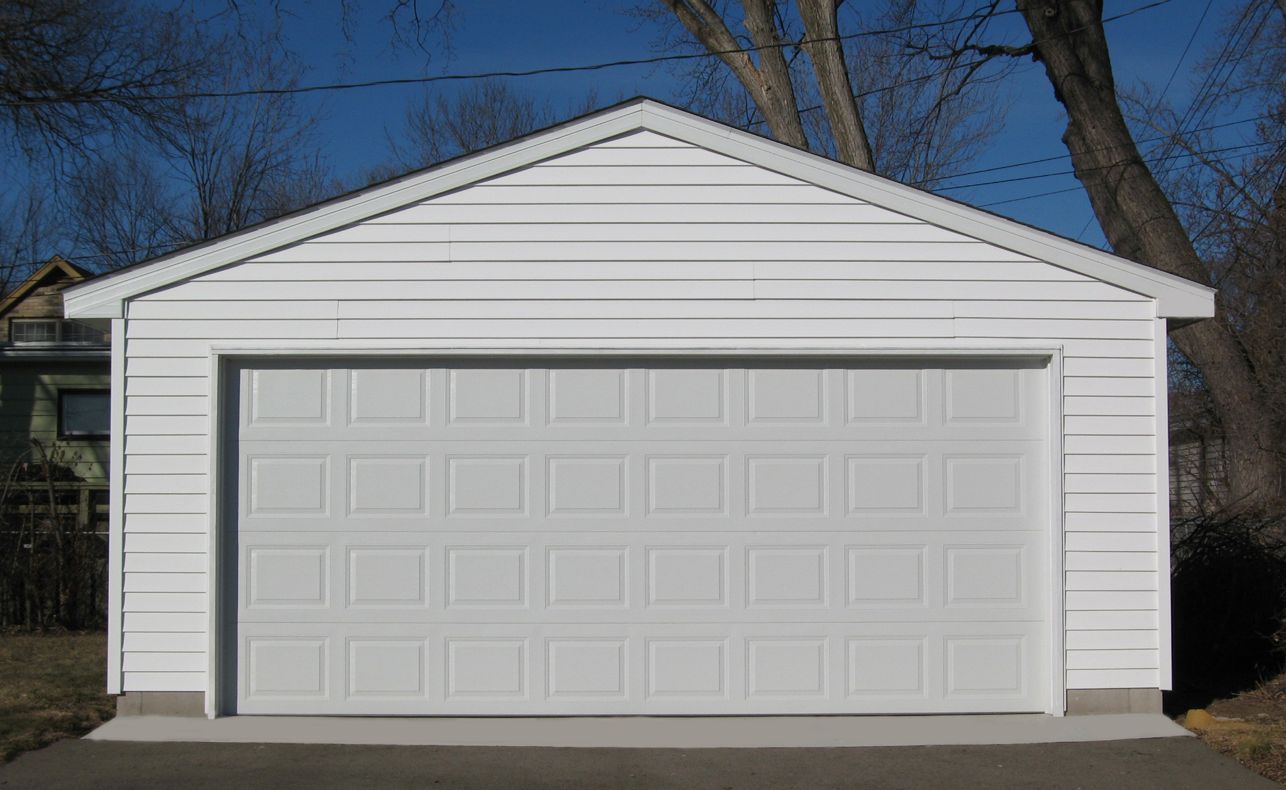 How Much Does A Basic Two Car Garage Cost