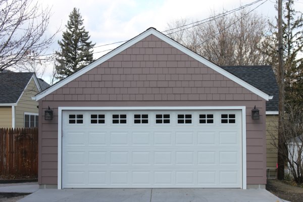 2 Car Garage Gable Roof Style Vs Reverse Gable Roof Style