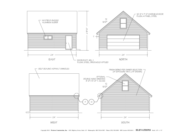 Diy garage Free garage blueprints