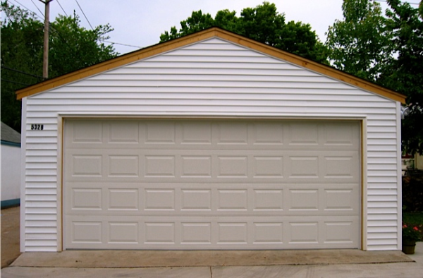 Affordable 2 Car Garage