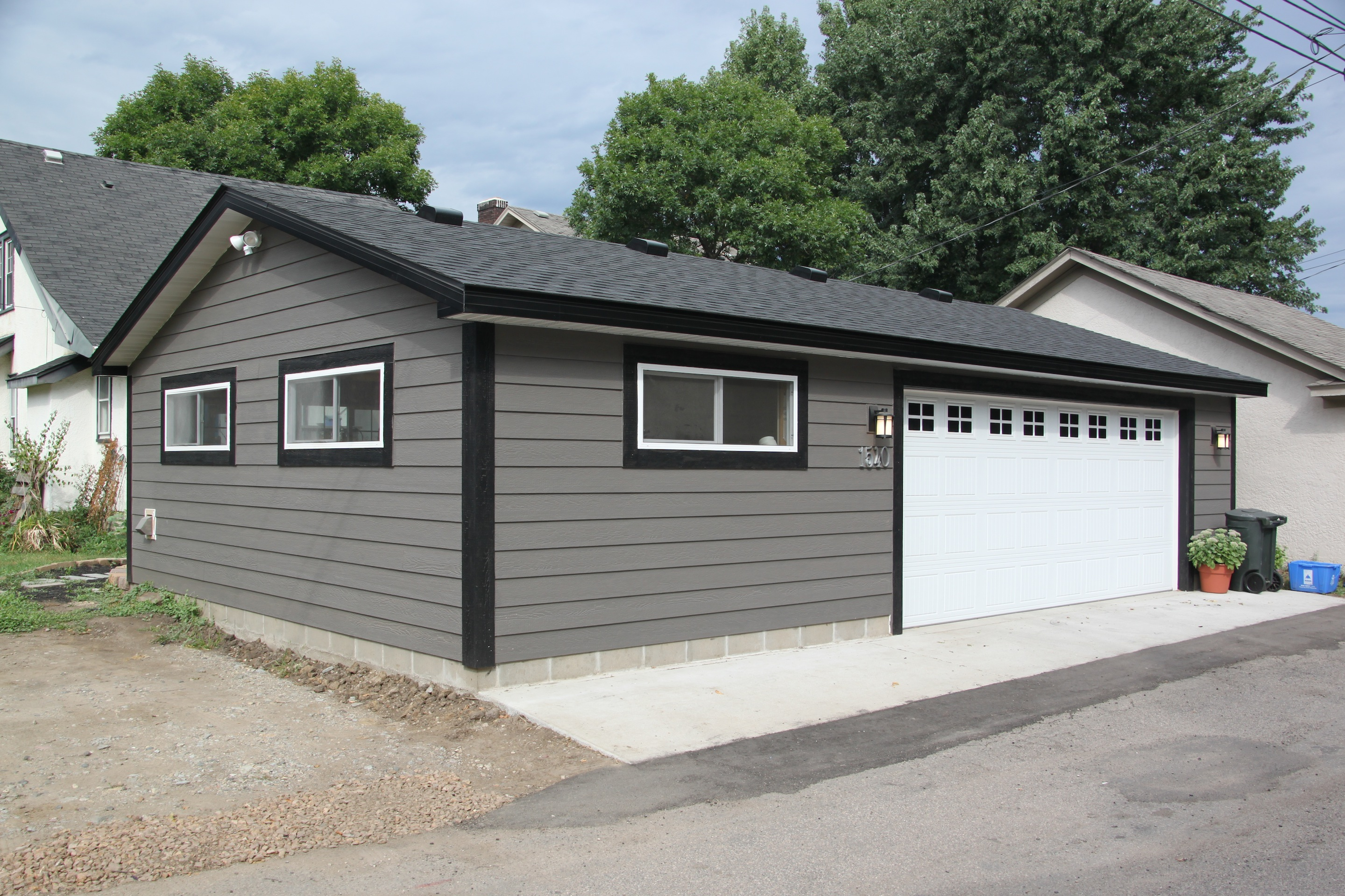 St paul garage home office for Cost to build a garage st louis