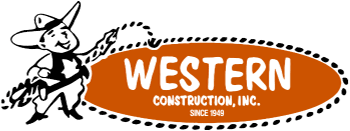 Western Construction, Inc. Minneapolis Garage Builders Contractors Logo