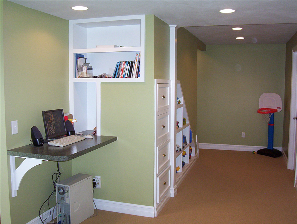 Storage and cabinet design ideas and remodeling solutions for Basement storage ideas