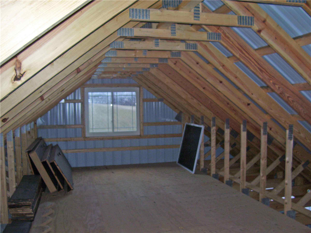 attic storage ideas with trusses - Fernando Pole barn plans living quarters