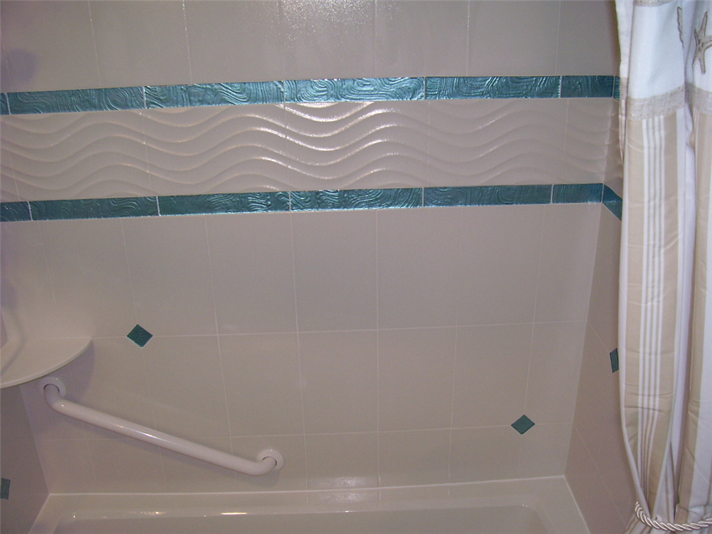 Ocean Inspired Bathroom Remodel Syracuse Ny