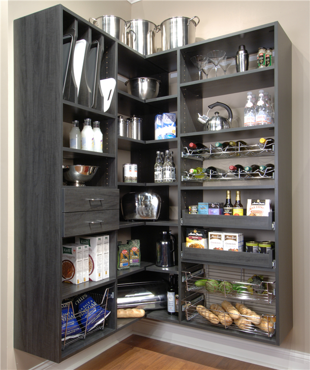 Kitchen Pantry Storage Solutions: Pantry Storage Solutions By McClurg