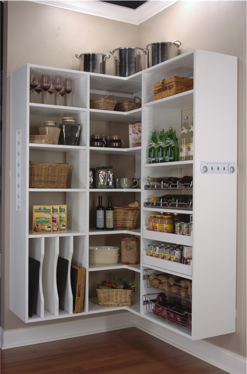 Wire pantry storage systems - Pantry storage shelving ideas ...