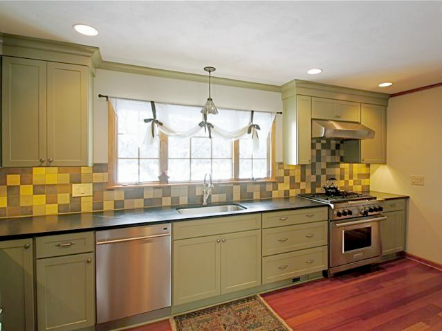 Beige Design Ideas Island Kitchen Decorating with Granite Counter ...