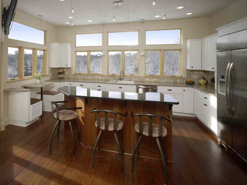 large island kitchen designs kitchen remodels project photos and descriptions