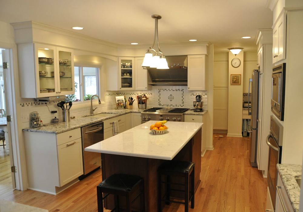 Kitchen Islands Seating Kitchen island remodeling contractors syracuse cny the kitchen was designed with the home cook in mind the ge monogram gas range workwithnaturefo