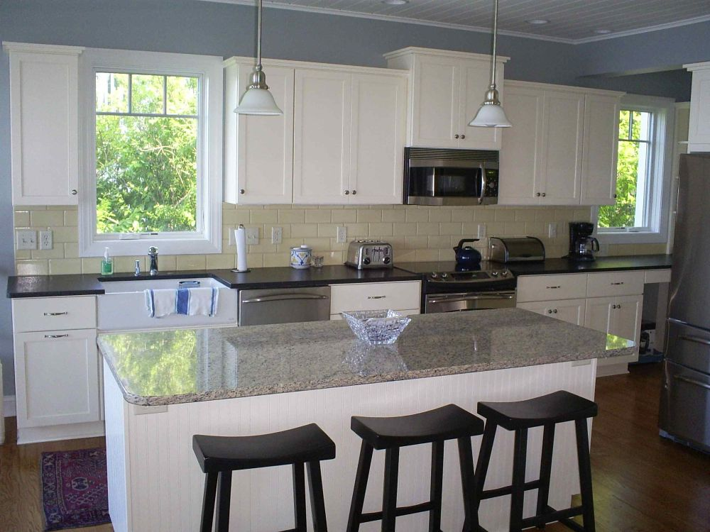 What Is A Kitchen Soffit And Can I Remove It: Kitchen Island Remodeling Contractors Syracuse CNY