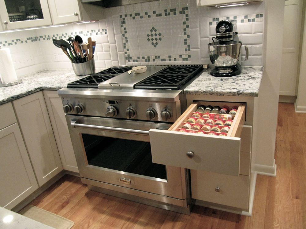 A Dual Fuel Range With Hood That Includes Warming Shelf Was Splurge For