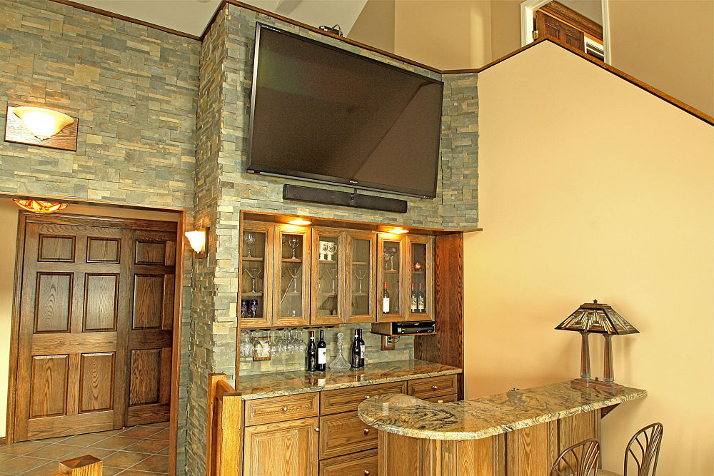 Built in storage and cabinet design ideas photos and Built in bar cabinets