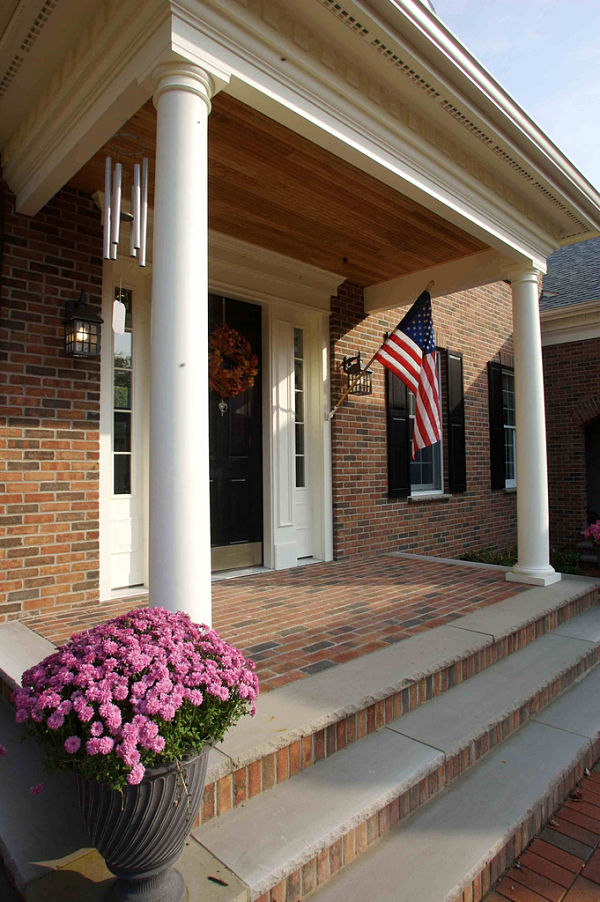 Porch And Portico Design Ideas Photos And Descriptions