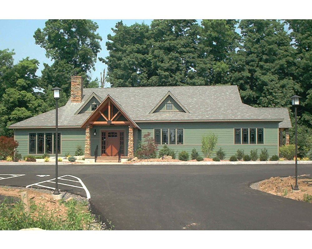 Inspired By The Adirondacks This Dental Office Was Built With Great Outdoors In Mind