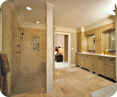 Exceptional Custom Walk In Shower. Photos ...