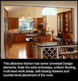 Universal design 12 kitchen design ideas for today and for Universal design kitchen ideas