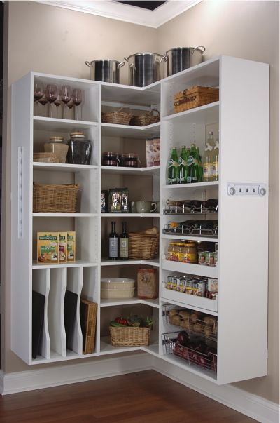 6 Hot Ideas for Kitchen Pantry Storage