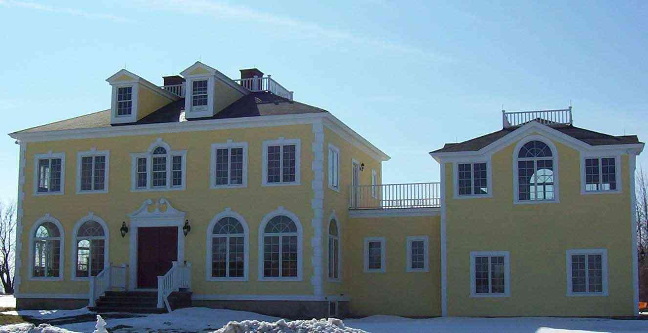 Exterior Plinth Blocks : New home construction syracuse central york cny