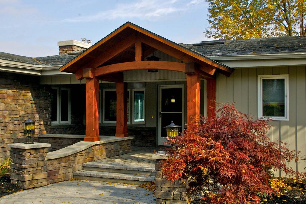 Exterior Renovations   Porches   Porch Columns