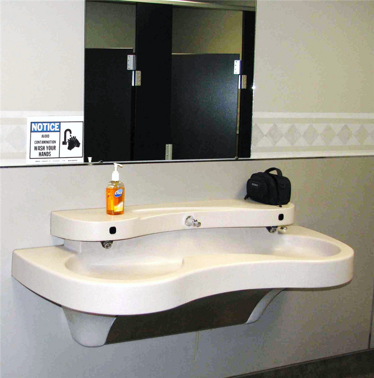 commercial bathroom sinks.  Located in a newly renovated bathroom local company s headquarters this sink can be Commercial Construction Syracuse Central New York CNY