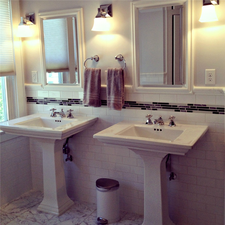 Two Pedestal Sinks From The Kohler Memoirs Collection