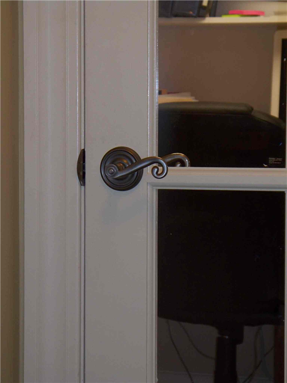... Lever Style Door Handles Are Easier To Operate Than Turning A Doorknob  And They Also Add ...