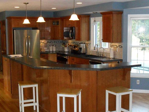 6 great kitchen floor plan design ideas for Great kitchen layouts