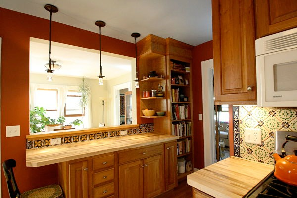 8 space saving ideas using built in cabinets and shelves - Built In Cabinets For Kitchen