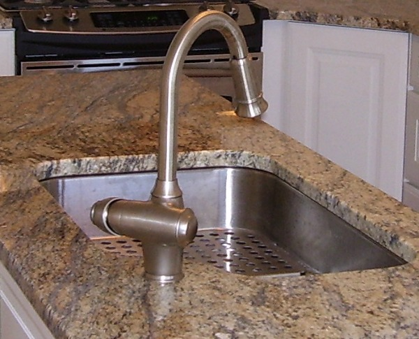 undermounted stainless steel sink - Brushed Steel Kitchen Sinks