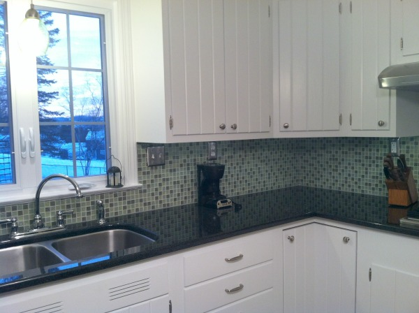 What exactly is a kitchen update for Replacing backsplash