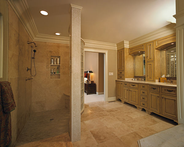3 design options for today s walk in showers - Walk in shower glass doors ...