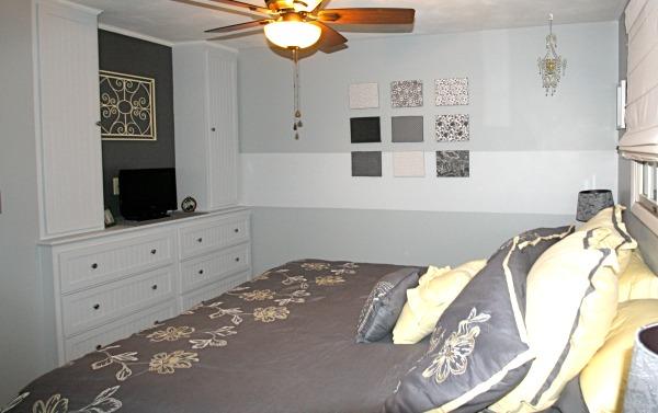 Custom Built In Bedroom Dresser