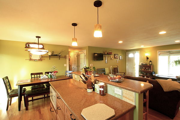 Project Of The Month Open Concept Floor Plan For A Ranch Home