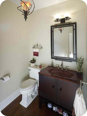 small bathroom ideas - Half Bathroom Design Ideas