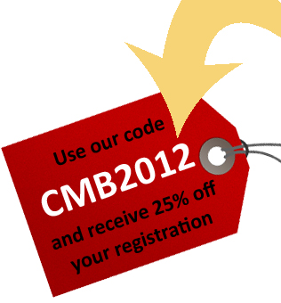 TMRE discount code tag icon 2012