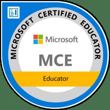 MCE Badge