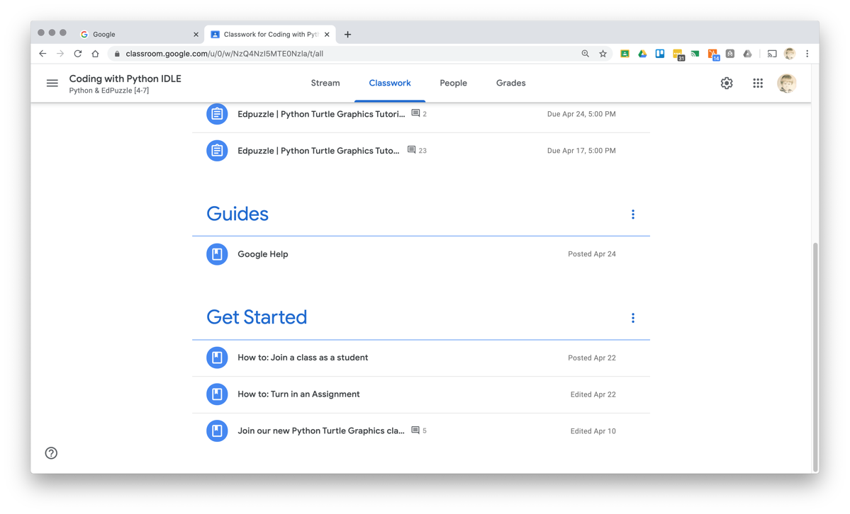 SchoolCoding Google Classes Get Started and Guides