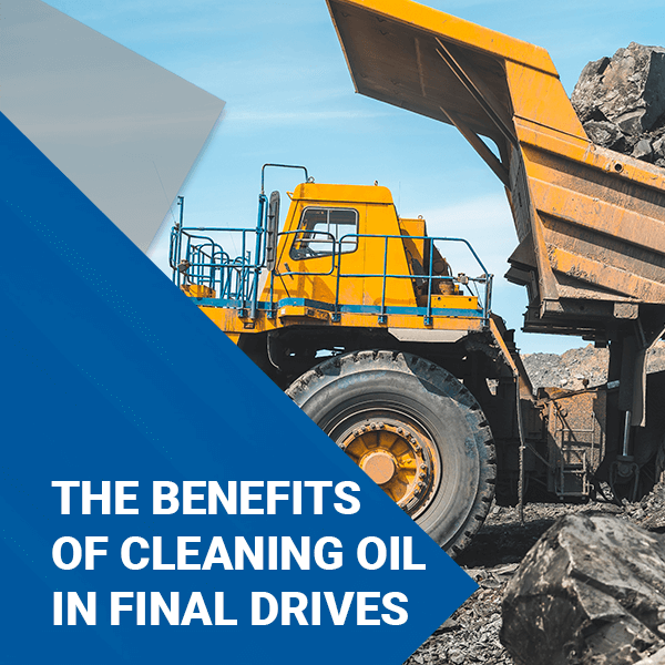 The Benefits of Cleaning Oil in Final Drives