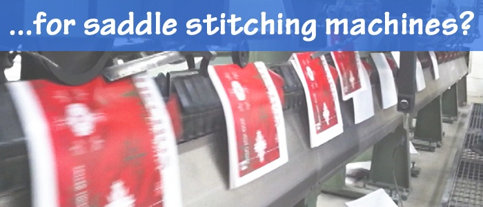 Bindery Tools for Saddle Stitching Machines