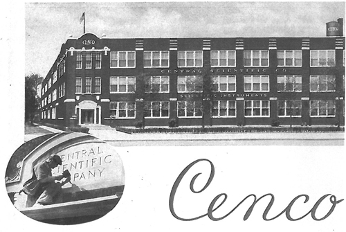 CENCO Headquarters after 1950 - Irving Park Road, Chicago