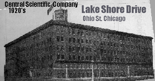 CENCO Factory at Ohio St and Lake Shore Drive, Chicago Circa until about 1935