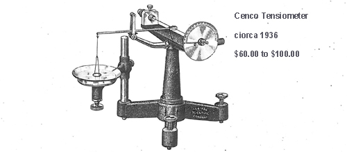 1936 CENCO Tensiometer