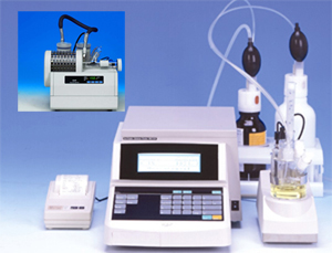 Karl Fischer Oven and Coulometric Titrator