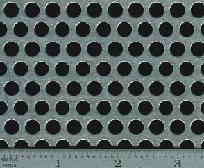 Perforated Plate Round Holes