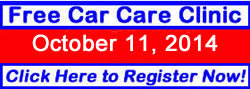 FREE Car Care Clinic in Little Rock