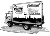 Blue Ribbon catering truck