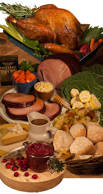 blue ribbon bbq thanksgiving packages
